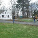 Picture of L. Marki and Son, Inc. installing a residental driveway